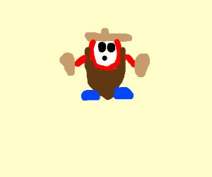Sombrero guy (Mexican shy guy)