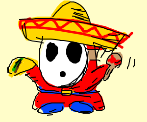 Shy Hombre (Mexican Shy Guy)