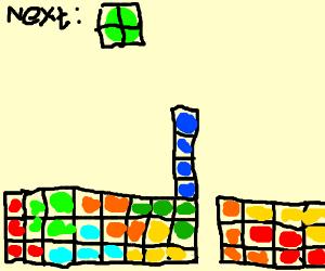 Tetris error