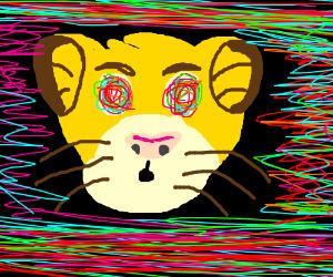 Lion king on acid