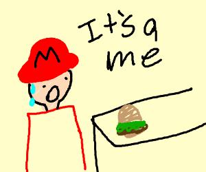 Mario Works At Macdonalds