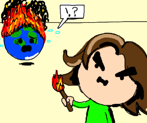 Egoraptor burns down planet Earth