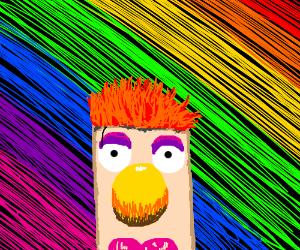 Muppet in drag