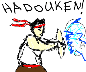 Hadoken - Drawception