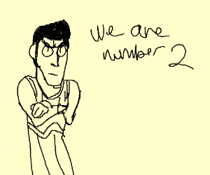 We are number 2