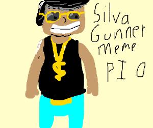 SilvaGunna meme PIO
