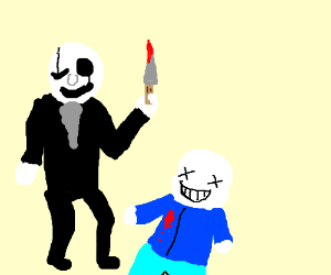 big nosed gaster murders sans