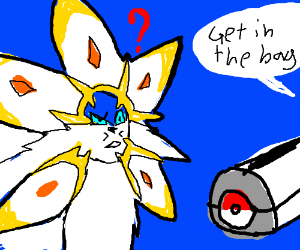Get in the bag, solgaleo!
