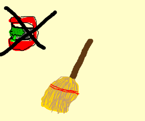 do not eat a broom