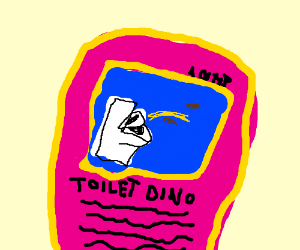 Toilet Dino is now in Pokemon