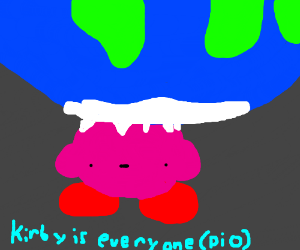 Kirby is everyone (PIO)