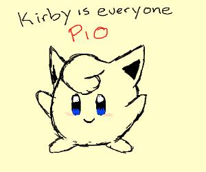 Kirby is everyone (PIO) (>'o')><('o'<) (>'o')>