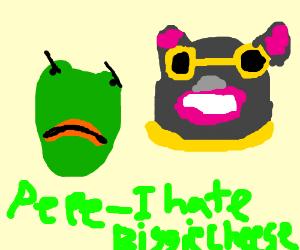 Angry Pepe hates you.