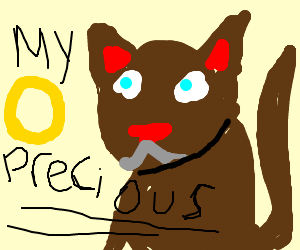 cat wants ring
