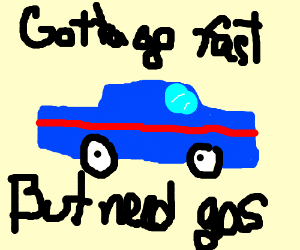 Sonic's car is too slow!