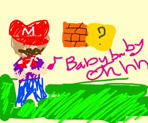 Justin Bieber is Mario.