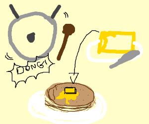 Dong, Butter, Pancake