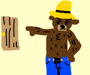 Smokey The Bear encourages you to get out.