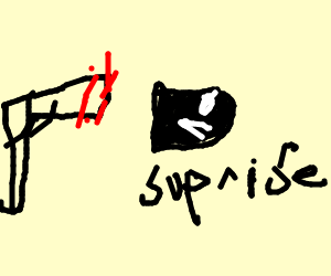 Surprise bullet!