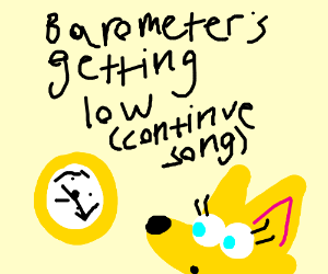 Humidity is rising (Cont. song)