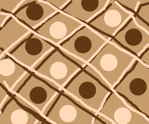 a brown pattern