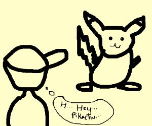 notice senpai pikachu
