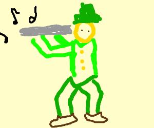 Leprechaun flute solo