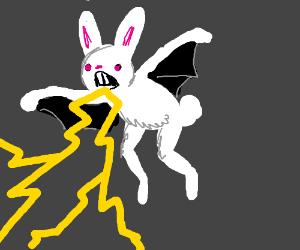 rabit bat with lightings