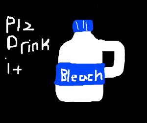 No one likes bleach/milk
