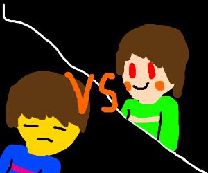 Frisk vs Frisk