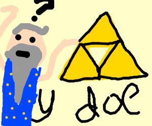 A bearded man questions The Legend of Zelda