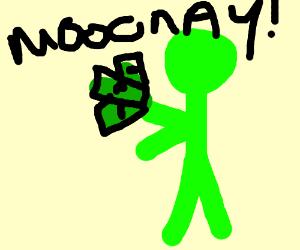 green man, green money