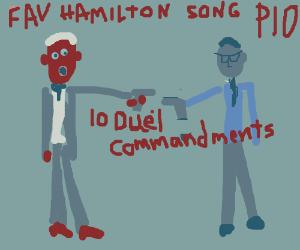 fav hamilton song PIO(Laurens' Interlude ;3)
