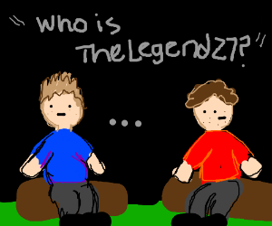 A Band Of Men Talking Of TheLegend27