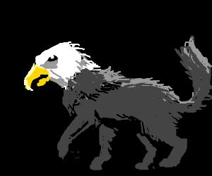 Part wolf Part eagle