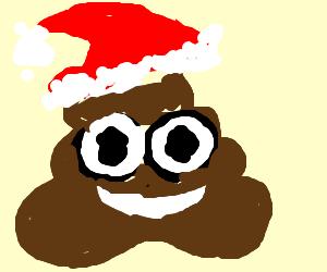 Christmas poop