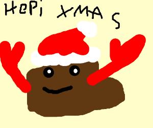 happy chrismas poop cancer
