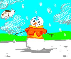 Avatar airbender snowman