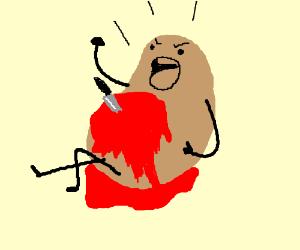 Potato bleeding