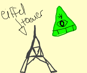 Eiffel Tower, illuminati confirmed