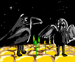 Aliens on Corn-On-The-Cob Planet
