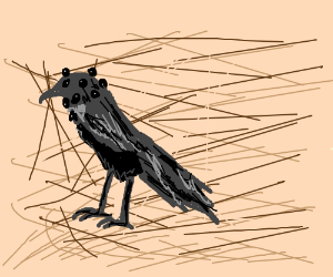 many eyed raven