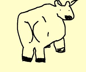 The moon jumping cow has PTSD
