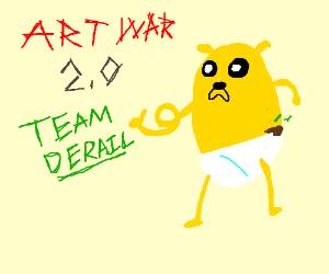Art War 2.0! Go Team Derail!