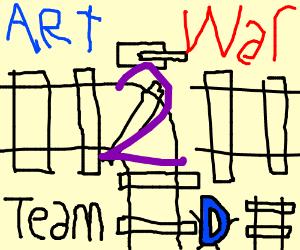 Art war 2: Team derail!