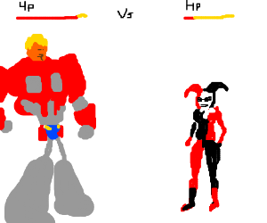Donald Truck vs. Harley Quinn