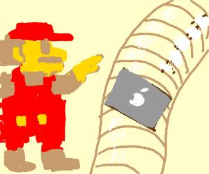 Slider (Gnarly Version) - Super Mario 64 - Drawception