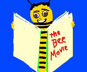 reading of the bee movie script