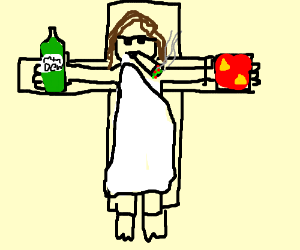 Step 5: realize that you are jesus and be mlg