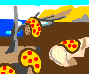 The Persistence of Pizzas